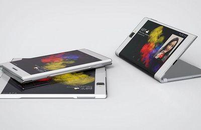 Brevet SAMSUNG pour smartphone à écran flexible