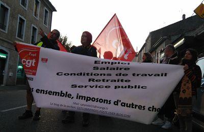 *Saint-Gaudens - les postiers en force pour une journée d'action !*