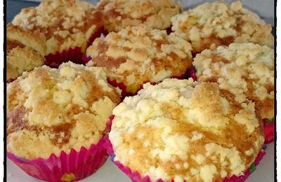 Muffin aux pommes façon crumble