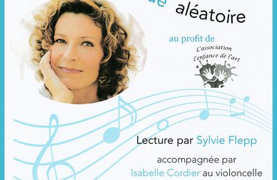 Lecture de Sylvie Flepp, 23 Avril 2016 à la Fabrik'Théâtre Avignon.