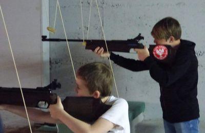 Concours familial au pas  de tir