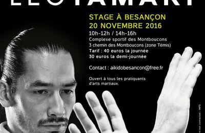Stage Aïkido : Leo Tamaki à Besançon