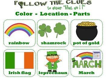 St Patrick's Day : 9 days to go ! | VOCABULARY Games