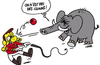 Action contre les cirques avec animaux samedi 09/04 à LaRochefoucault