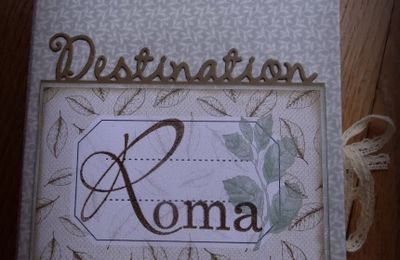 Road Book: Destination Rome.