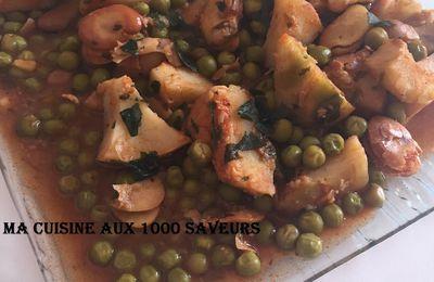 tbikha algérienne, jardinière de légumes