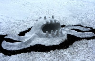 Commandment number 1: each time you'll see snow, thou wilt do Snow Monster