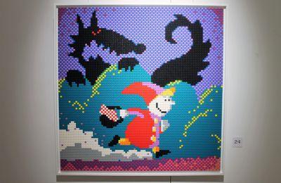 Pixel art en LEGO