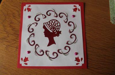 cartes brodées