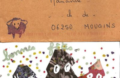 "mailarts reçus (""picasso"", ""rose"", ""chat"")"