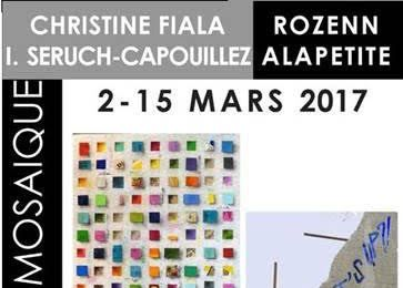 Suivez le guide des expositions - Aquarelle Isabelle Seruch Capouillez