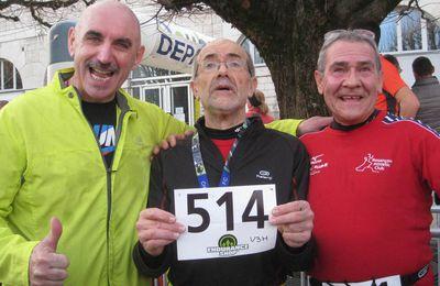 Résultats de la corrida de Besançon 2015