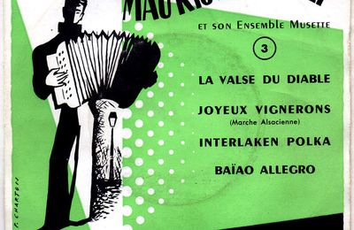 Maurice Vittenet et son ensemble musette - la valse du diable