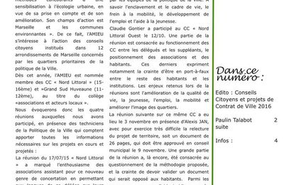 Bulletin n°51 Octobre 2015