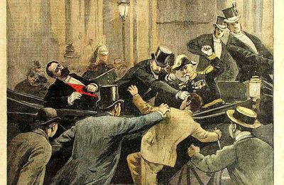 La police du chef de l'Etat en 1894