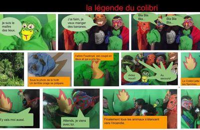 La légende du colibri : en texte, en chanson, en image, en animation...