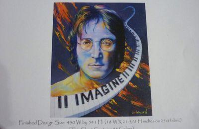 John Lennon par ma fille / 3