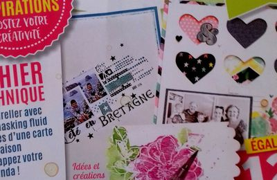 Idees Magazine créa Cartes et Scrap n° 8