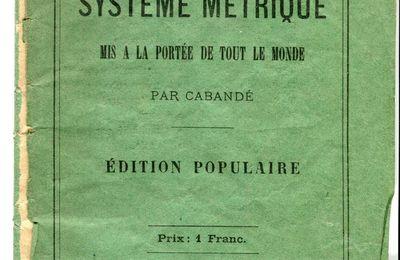 Système métrique