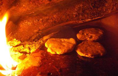 Le plaisir de la cuisine au feu de bois.