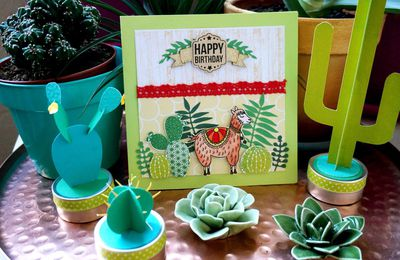 Happy birthday ! Carte piquante :)