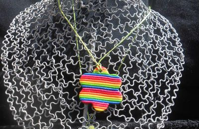 collier coloré