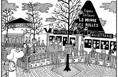 """Dédicaces de """"Moite-Moite"""" à Angoulême 2016"""