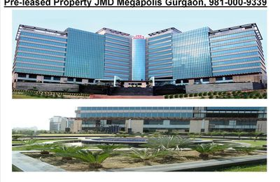 Pre-leased Property in JMD Megapolis Sohna Road Gurgaon, 9810009339