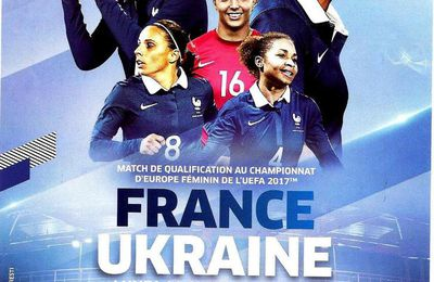 Match International FRANCE-UKRAINE rencontre Féminine  du 11 04 2016