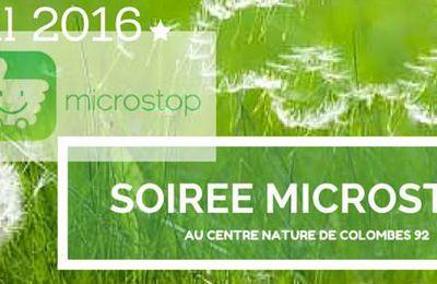 Soirée Microstop au Centre Nature