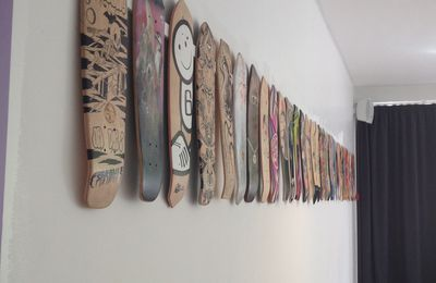 ART ON BOARD // Organ Skateboard