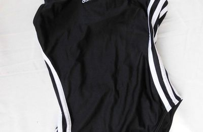 maillot nageur noir ADIDAS fillette NON DISPONIBLE