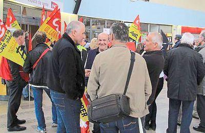 Les Syndicats [CGT] défendent le Quimper-Brest (Dimanche-OF 26/04/2015)