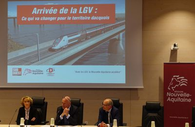 "DAX : BORDEAUX A  2h04 DE PARIS, ""ACCELERATEUR DE DEVELOPPEMENT"" !"