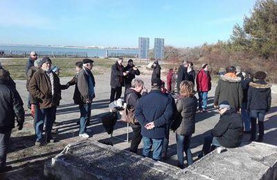 Visite des digues en baie d'Angoulins et d'Aytré avec l'association EFFET MER : reportages sonores