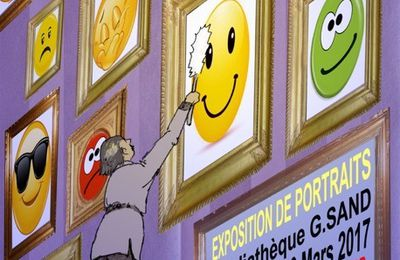 Vernissage mardi 07 mars à 18h.
