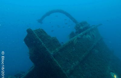 WRECK DIVING : le Liban, 1er mai 2015