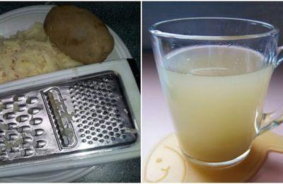 Voila Pourquoi vous devriez boire le jus de pomme de terre jus! Vous ne croirez jamais jusqu'à ce que vous essayez!