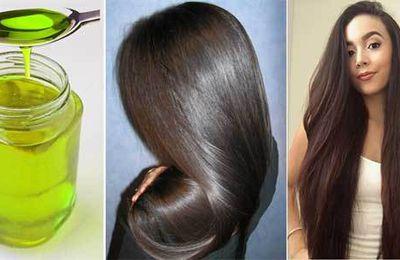 Une huile qui va arrêter votre chute de cheveux tout en favorisant leur longeur et les rendre plus épais dans tout juste 10 jours