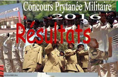 Résultats concours d'entrée en classe de sixième dans les Écoles militaires préparatoires