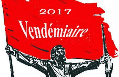 Vendémiaire 2017