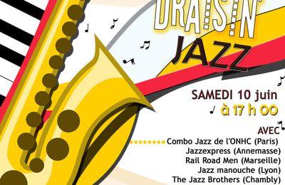 Le prochain festival national de jazz approche... Rendez-vous à Lyon le samedi 10 juin 2017 !