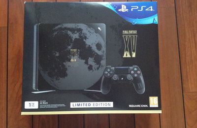 Unboxing PS4 Pack Final Fantasy XV Edition Limitée