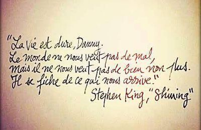 Stephen King - 2 Citations