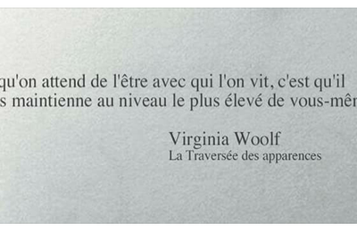 Virginia Woolf - 2 Citations