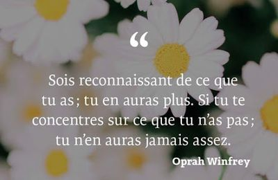 Oprah Winfrey - 2 Citations