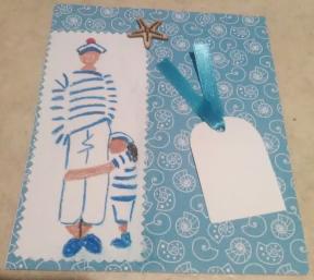 Fabrication de cartes avec un dessin au pastel