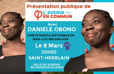 """Danièle Obono , la députée """"France Insoumise"""" qui signe des pétitions pour qu'on puisse """"Niquer la France"""""""