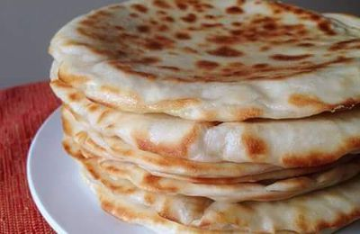 Naan au Fromage ou pain indien