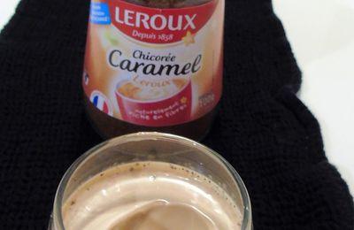 Yaourts à la chicorée caramel #Chicorée Leroux